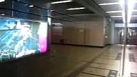 北京地铁4号线列车进国家图书馆站