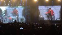 广州2016.1.22 FM 防弹少年团 游戏环节高音对决 掰手腕 踢毽子+Danger+中文歌