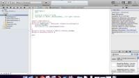 初学iOS 新建工程 视频教程1