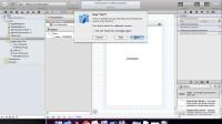 初学iOS 新建工程 视频教程2