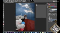 Photoshop第20集教程-PS多图合成精美的非主流图片
