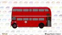 TransPNG 2 - AEC Routemaster 伦敦双层巴士绘图推出了