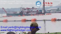 Hihgling dredger working in Bangladeshsand cutter suction dredger