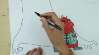 创意儿童插画《小怪兽与大树》,看大树怪如何逗乐愤怒小怪