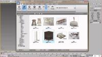 琅泽Kk_3DMax零基础到建模实战(就业班录屏)_10.17_第三节_模型调用与导入导出