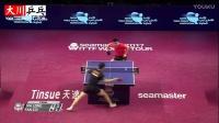 马龙vs樊振东【2017卡塔尔乒乓球公开赛】龙队夺冠