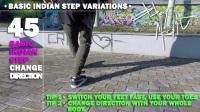 Breakdance Toprock tutorial • 50-100 Indian Step Variations • Bboy
