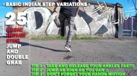 Breakdance Toprock tutorial • 30-100 Indian Step Variations • Bboy