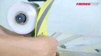 电线胶膜缠绕机,适用电线、电缆、钢丝等环形物体的最佳选择!