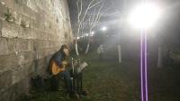 170304SAT 吉他指弹练习 TONY大叔 城墙边 玄武门内 南侧200米 南京 (3)