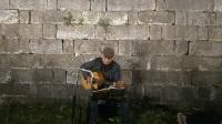 170304SAT 吉他指弹练习 TONY大叔 城墙边 玄武门内 南侧200米 南京 (2)