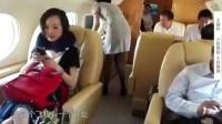 首富王健林首次公开私人飞机霸气发红包200个