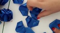 《花之语礼品》手工丝带玫瑰花做法教程!