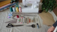 第一课 服装制作基本工具介绍 做衣服