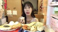 【第十四期】学校食堂的早餐 南瓜饼 糯米饭团 包子 葱油饼等