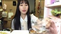【第十三期】吃播 黄焖鸡米饭+乳酪片+抹茶派