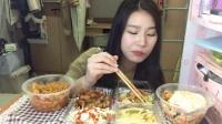 【第二十九期】吃播 炸猪排 五花肉石锅拌饭 韩式年糕炒面