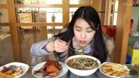 【第三十六期】吃播 蜜汁手扒鸡 菜干三鲜麦虾 黑椒鸡块 薯条 零食