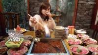 大胃王密子君(自助火锅)吃垮一家是一家,饲养员鹏鹏你到底说谁是猪?吃播吃货美食!