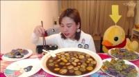 大胃王密子君(炫彩汤圆水饺)祝大家元宵节团团圆圆,快快乐乐,吃播吃货美食