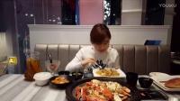 """大胃王密子君(蒸汽海鲜)假期结束啦,2017年我要做一个""""节制""""的吃货,吃播吃货美食"""