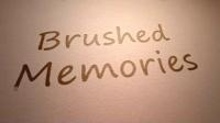 笔刷涂抹回忆相册