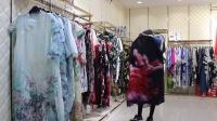【凯撒贝雷】夏装真丝连衣裙,休闲女装,折扣女装批发