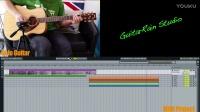 【吉他雨工作室】金范秀 - 《想你》间奏木吉他SOLO教学(简化预览版)。