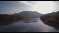 台风H航拍黄山太平湖美景