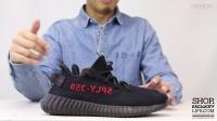 Adidas Yeezy 350 Boost V2 Black Red  实物细节近赏