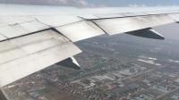荷兰航空KL895降落上海浦东T1 B777-200
