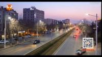 青岛城阳有轨电车示范线街景夜景素材4