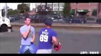 民间高手在街头任人挑战,竟然没人能击中他一拳!身手太敏捷了