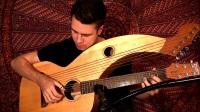 白领天使HD-竖琴吉他-指弹-Here Comes The Sun (Beatles) - Harp Guitar Cover - Jamie Dupuis
