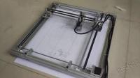 铅笔代画图  铅笔打印机 机米科技出品
