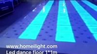 DMX RGB Dance floor 1X1M /LED跳舞地板砖,DMX512,自走,声控