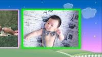 皮皮满月照相册-可爱的小宝贝