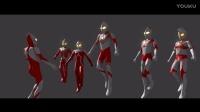 【 CG】⑥ 『奥特曼兄弟+佐菲 vs哥斯拉 2016』Blender
