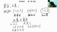 高中数学——集合1概念