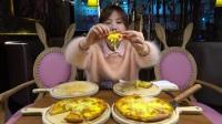 大胃王密子君(披萨甜品)到底发生了什么?密子君在视频中居然啪啪打脸