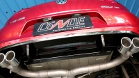 高尔夫GOLF7-1.4T改装CENDE森德全段可变阀门排气