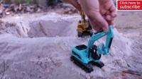 装卸车装载车勾机大卡车土方车玩具游戏载沙子玩沙子推土机