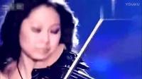 高跟红裙小提琴 激情的小提琴表演.mp4