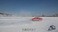 保时捷911 晓敏挑战冰雪绕圈漂移 09