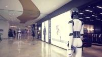 商场出现机器人-中国机器人-机器人-梦象MX机器人robot AI