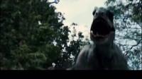 侏罗纪世界 本想消灭霸王龙,不小心放出了翼龙,上街祸害人类