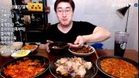 韩国MBRO大胃王吃播大挑战(糖醋肉、糯米面)直播间