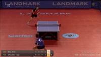 2017乒乓球比赛 老将波尔一超级球让对手怒摔球拍裁判险中枪 另类乒乓球.mp4