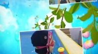 徐教练带着子夏和其他小朋友一起在游泳。