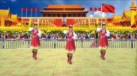 安阳金东姐妹广场舞《最美的歌儿唱给妈妈》编舞山茶老师,演示蓝天白云